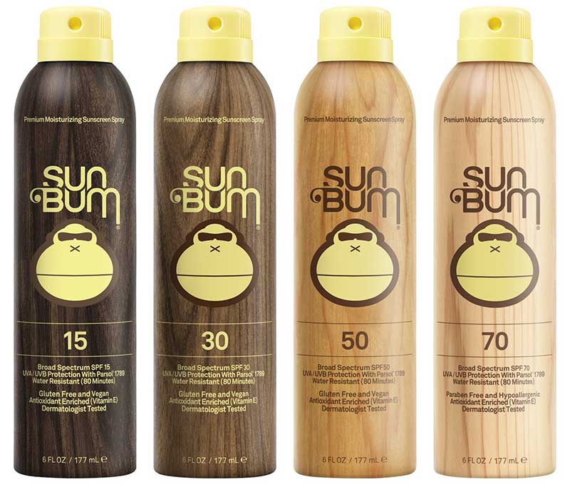 Sun Bum Original Moisturizing Sunscreen Lotion range