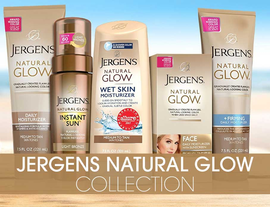 Jergens natural glow collection