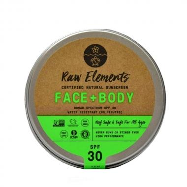 Raw Elements Non-Nano Zinc Oxide Sunscreen SPF 30